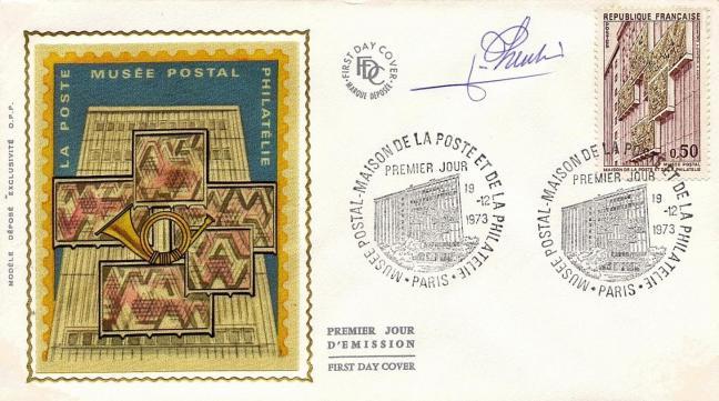 167 1782 19 12 1973 musee postal