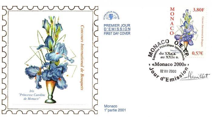 167 2282 02 12 2000 concours international de bouquets 2001