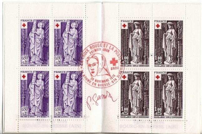 168 1910 1911 20 11 1976 croix rouge 1