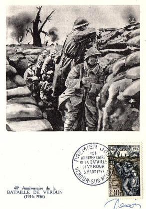 17 1053 03 03 1956 40eme anniversaire de la bataille de verdun 6