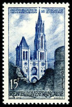 17 1165 17 05 1958 cathedrale de senlis