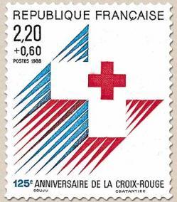 17 2555 19 11 1988 125eme anniversaire de la croix rouge