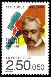 17 2749 11 04 1992 florent schmitt 1870 1958