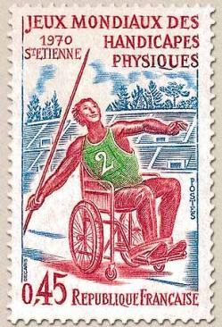 172 1649 27 06 1970 jeux mondiaux des handicapes physiques