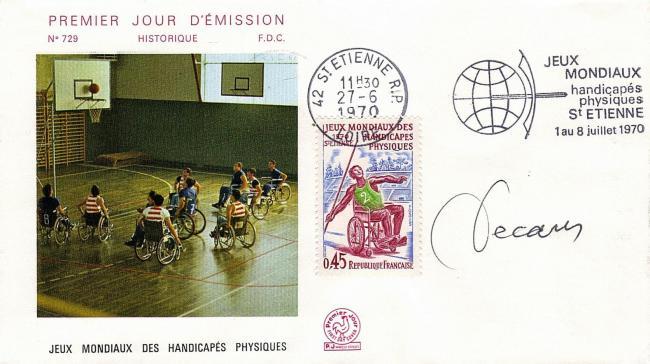 174 1649 27 06 1970 jeux mondiaux des handicapes physiques