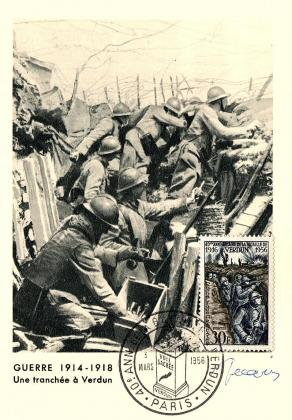 18 1053 03 03 1956 40eme anniversaire de la bataille de verdun 7