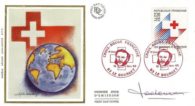 18 2555 19 11 1988 125eme anniversaire de la croix rouge
