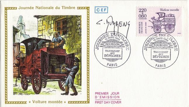 186 2525 12 03 1988 journee du timbre