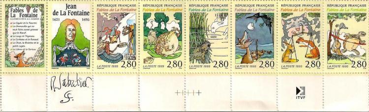 19 b2964 24 06 1995 fables de la fontaine