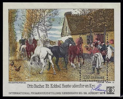 21 591 29 08 1976 exposition hafnia 76 peinture de otto bache