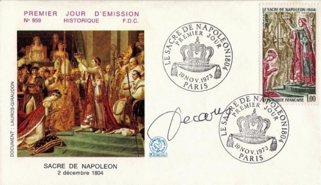 215 1776 10 11 1973 sacre de napoleon