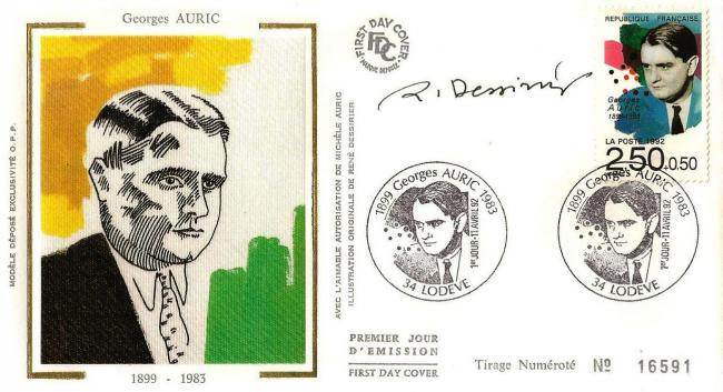 22 2751 11 04 1992 georges auric 1899 1983