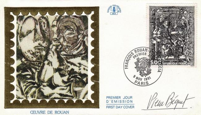 225 2730 09 11 1991 francois rouan