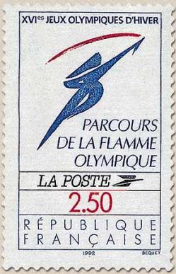226 2732 14 11 1991 logo officiel flamme