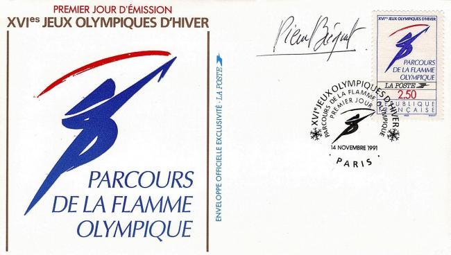 227 2732 14 11 1991 logo officiel flamme jpg