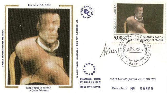23 2779 20 11 1992 francis bacon etude pour le portrait de jhon edwards