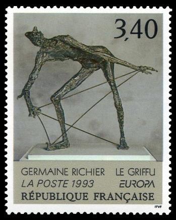 23a 2798 17 04 1993 germaine richier le griffu