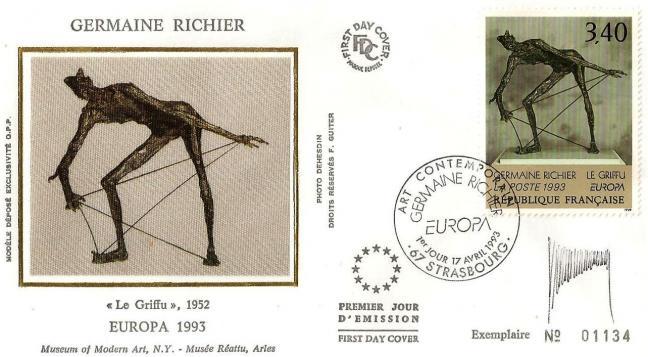 23b 2798 17 04 1993 germaine richier le griffu
