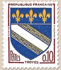 24 1353 1963 blason de troyes