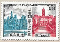 27 1176 11 10 1958 jumelage paris