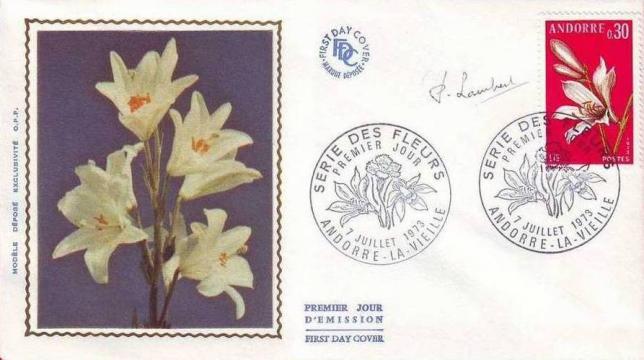 27 229 07 07 1973 fleur des vallees d andorre le lis