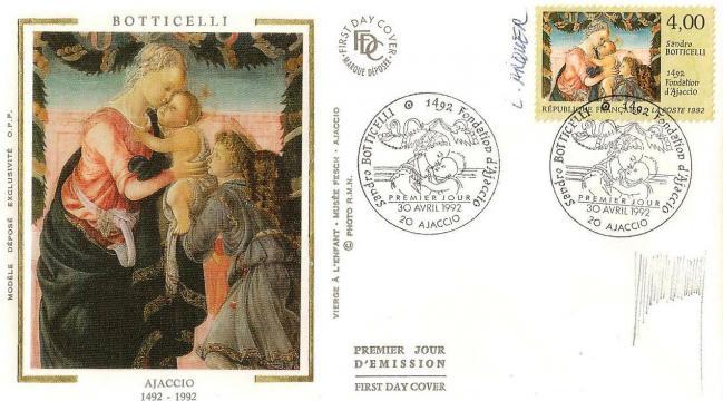 27 2754 30 04 1992 sandro botticelli 1492 fondation ajaccio
