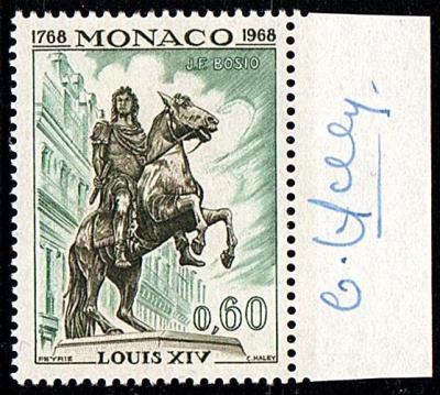 27b 767 12 12 1968 le monument a louis xiv paris au centre de la place des victoires