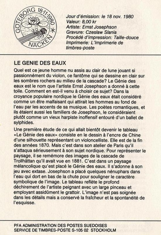 11 18 11 1980 le g nie des eaux for Genie des eaux
