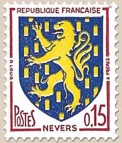 28 1354 1962 blason de nevers