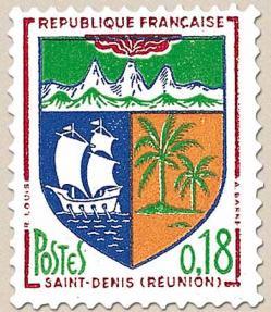 30 1354a 1964 blason st denis reunion