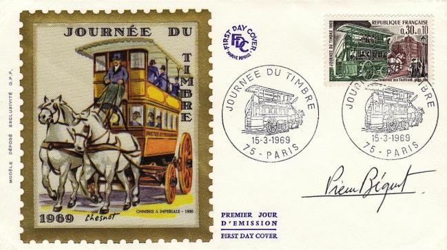 32 1589 15 03 1969 journee du timbre