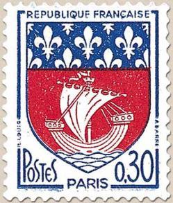 33 1354b 1965 blason de paris