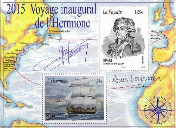 33 22 07 2015 voyage inaugural de l hermione