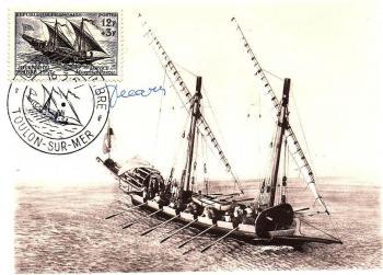 34 1093 16 03 1957 service maritime postal