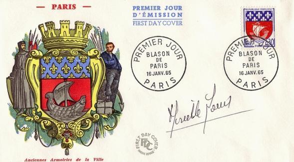 34 1354b 1965 blason de paris
