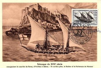 37 1093 16 03 1957 service maritime postal