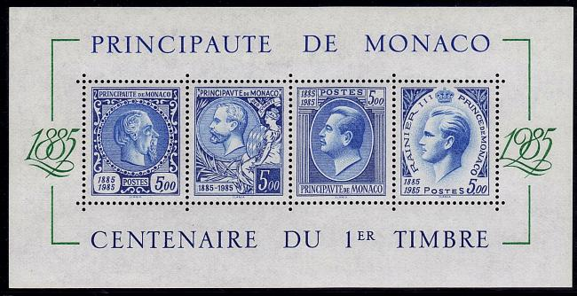 37 bf n 33 05 12 1985 centenaire du 1er timbre