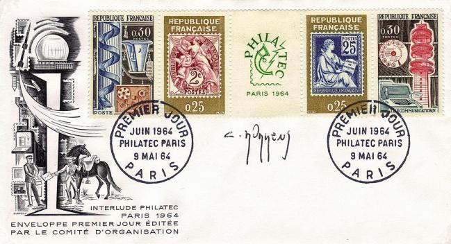 38 1417 09 05 1964 philatec 2