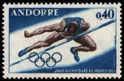 38 190 12 10 1968 jeux olympiques de mexico saut en hauteur 1
