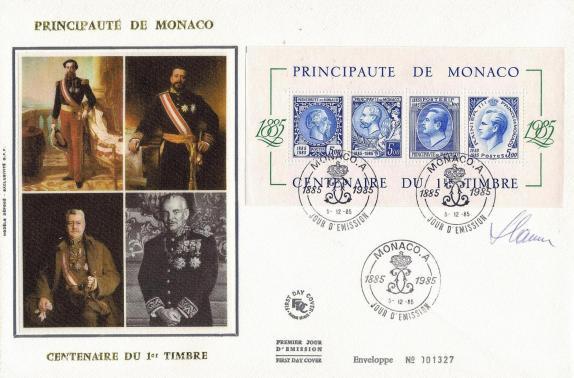 38 bf n 33 05 12 1985 centenaire du 1er timbre