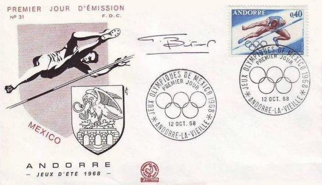 39 190 12 10 1968 jeux olympiques de mexico saut en hauteur