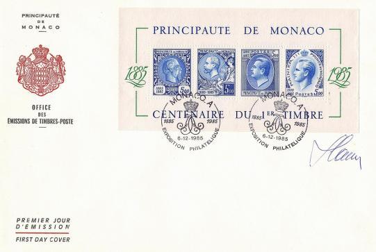 39 bf n 33 05 12 1985 centenaire du 1er timbre