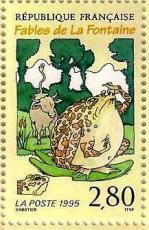 4 2959 24 06 1995 la grenouille qui veut se faire aussi grosse que le boeuf