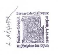 40 4802 2013 bernard de clairvaux