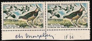 41 1273 17 12 1960 le vanneau etude des migrations