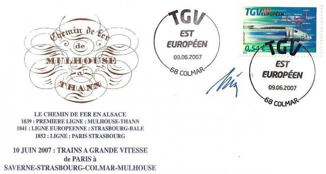 41 4061 09 06 2007 tgv est europeen