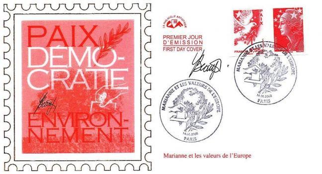41c 175 178 14 06 2008 mrianne et les valeurs de l europe