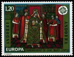 42 244 26 04 1975 europa fresques de l eglise de la cortinadacouronnement de saint marti xvi 1