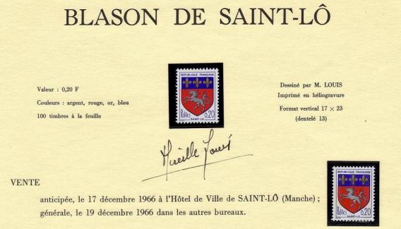 43 1510 17 12 1966 blason de saint lo