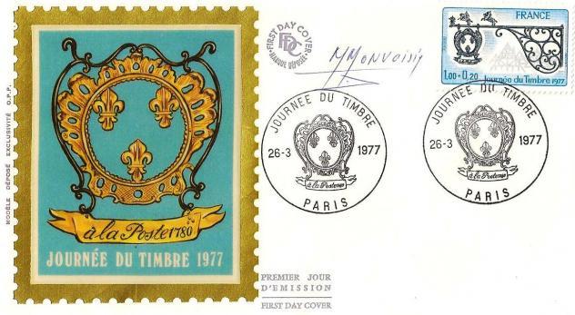 43bis 1927 26 03 1977 enseigne de relais de poste